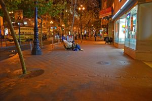 Market Street at night. (All photo credits go to Christopher Berggren)